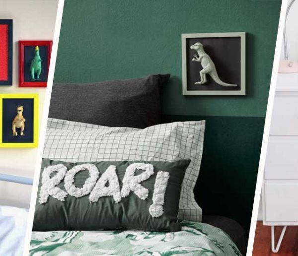 7 déco de chambres d'enfants inspirantes pour fans de dinosaures