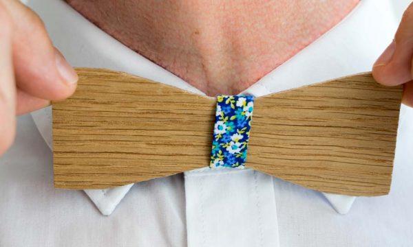 Tuto : Fabriquez un nœud papillon en bois sans couture