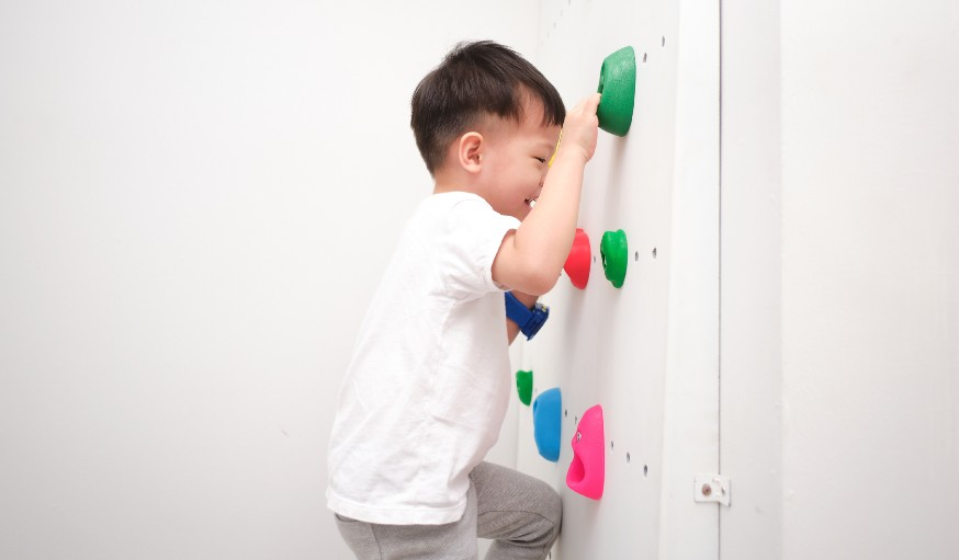 How to Safely Build a Climbing Wall for Your Children