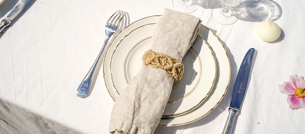 Tuto : Fabriquez des ronds de serviette bohèmes en macramé