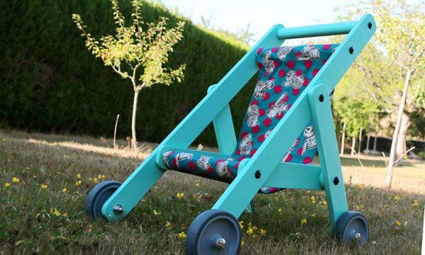 Tuto : Fabriquez une poussette pour les poupées de votre enfant