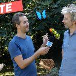 Simon Hureau parle de son jardin et la biodiversité