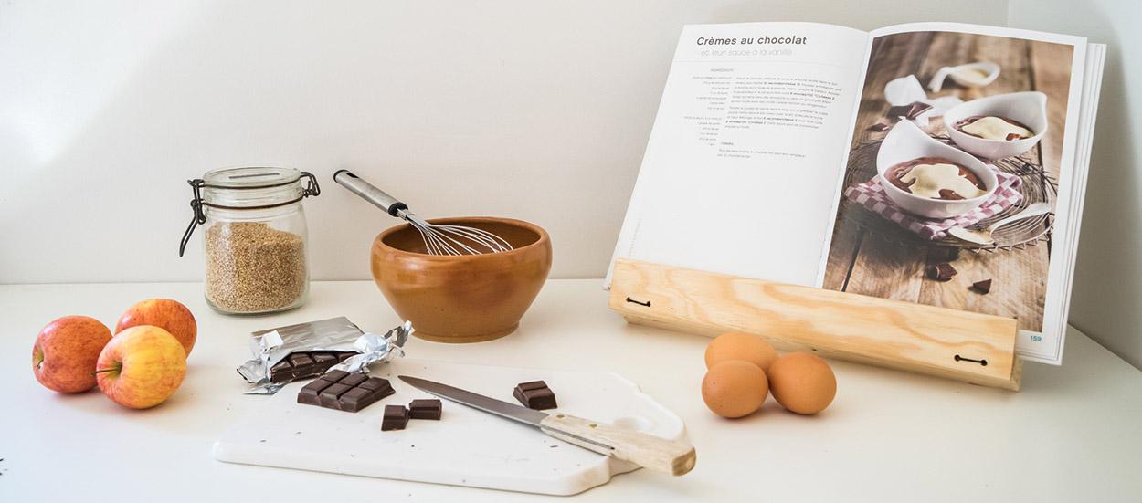 Tuto : Fabriquez un lutrin pliable pour livre de cuisine