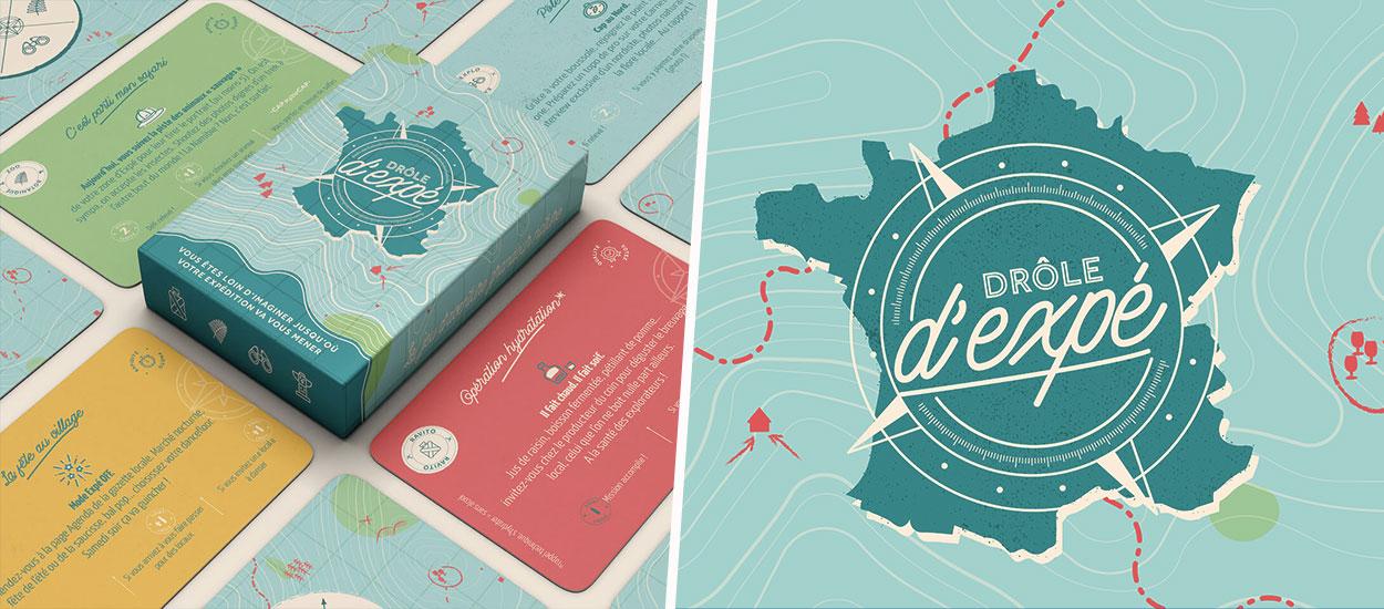 Ce jeu de cartes transforme votre région en petit Pékin Express pendant les vacances