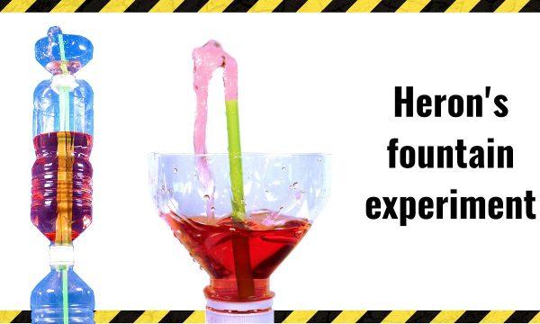 Expérience amusante : fabriquez une fontaine qui fonctionne sans moteur