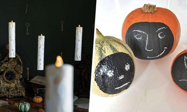 6 décos d'Halloween à fabriquer avec vos enfants