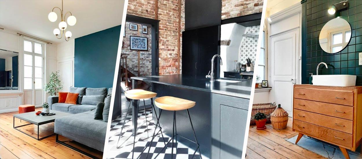 5 idées déco vintage à piquer à cette maison en briques exceptionnelle
