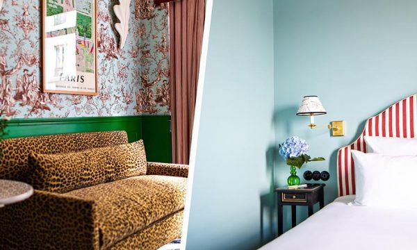 7 idées colorées à piquer à cet hôtel de charme