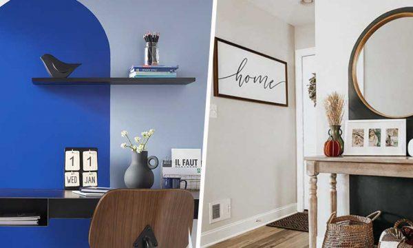 Idée déco : peignez une arche en couleur pour habiller vos murs