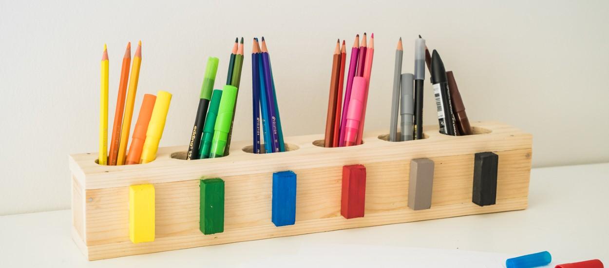 Tuto : Fabriquez un range-crayon éducatif façon Montessori