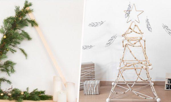 8 tutos pour fabriquer votre sapin de Noël écolo
