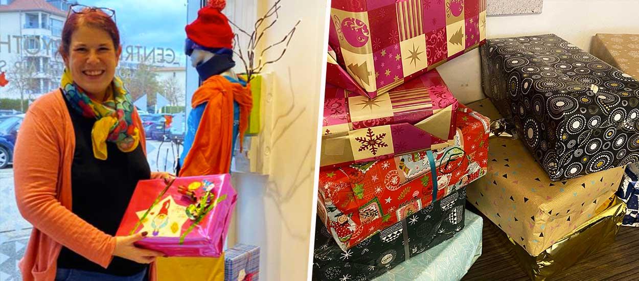 Les boîtes de Noël : grâce à son initiative, des cadeaux vont être offerts aux plus démunis dans toute la France