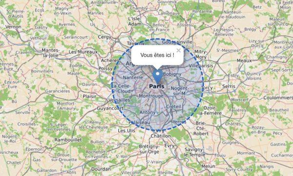 Confinement : comment savoir si vous êtes à 20 km de votre habitation ?