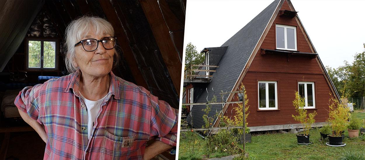 À 65 ans, cette architecte féministe et solidaire a construit sa maison en A pour 35 000 euros