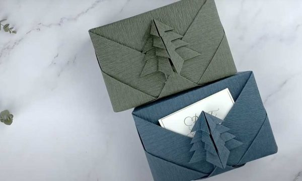 Emballez vos cadeaux de Noël comme des œuvres d'art !