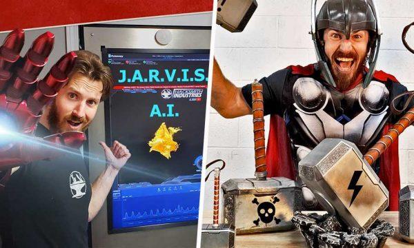 Sabre laser ou bouclier  : il fabrique des accessoires de films et les rend réels