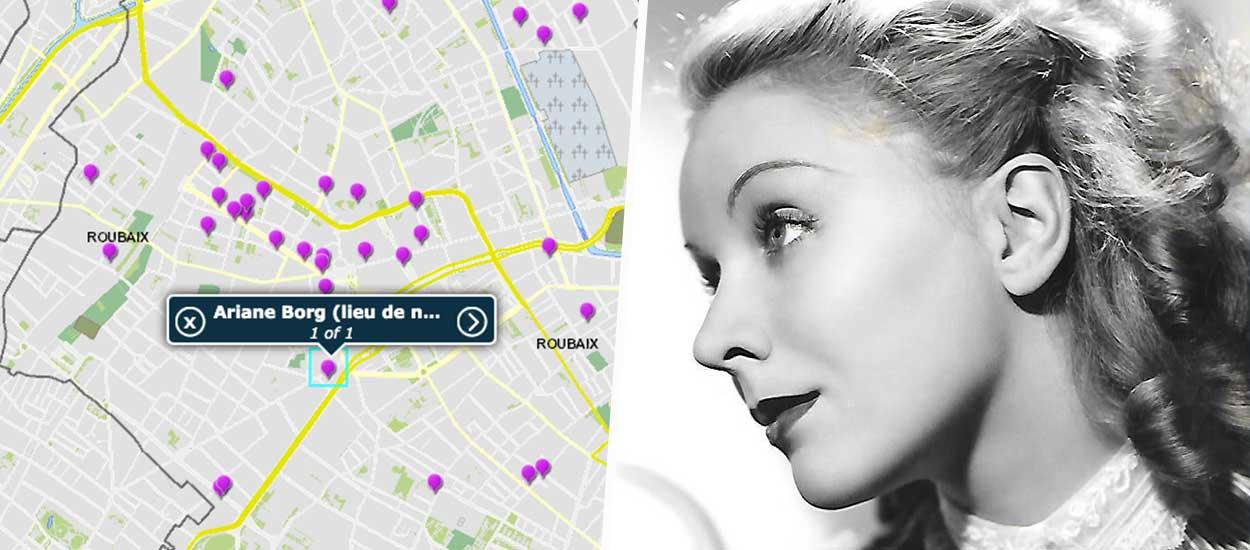 La ville de Roubaix a créé une carte interactive pour rendre hommage à son matrimoine