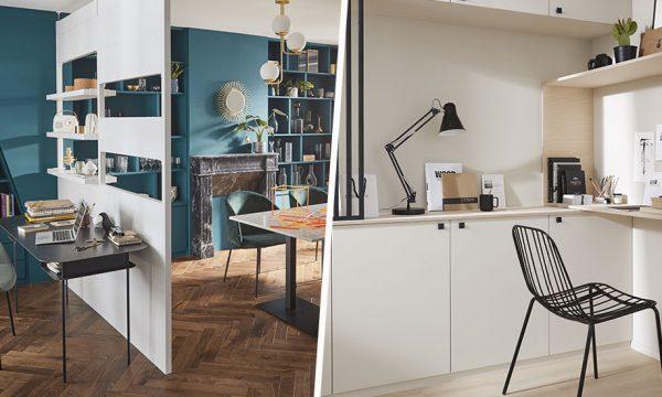 7 idées astucieuses pour créer un espace de travail chez soi (sans gros travaux)