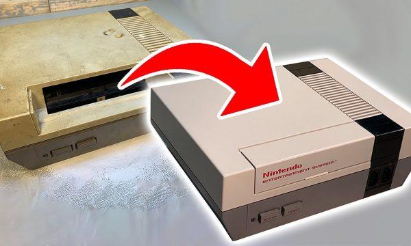 Il ressuscite entièrement une vieille console Nintendo : un acte plus révolutionnaire qu'on croit