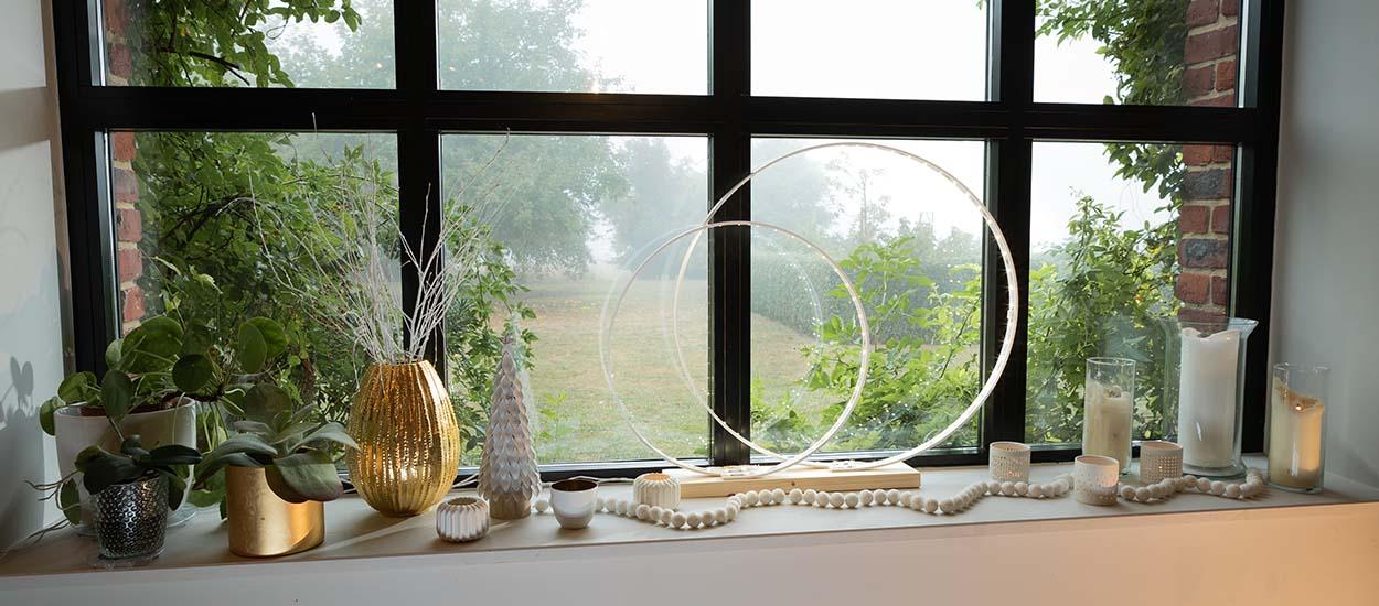 """Tuto : Fabriquez une lampe """"Cercles"""" design avec des LED"""