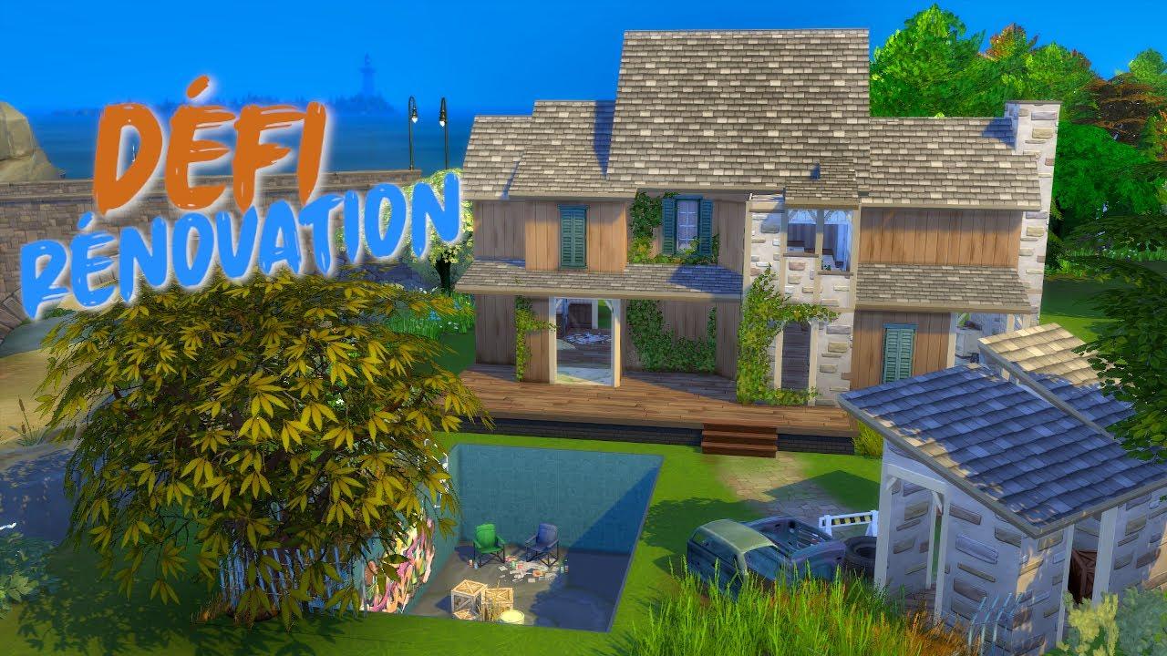 Defi Sur Les Sims 4 Des Youtubeurs Lancent Des Challenges Construction