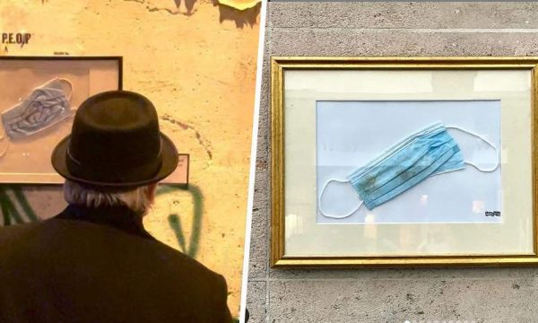 Cet artiste expose les masques ramassés par terre : saurez-vous les retrouver dans Paris ?