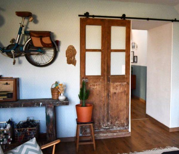 Tuto : Fabriquez une belle porte coulissante récup'