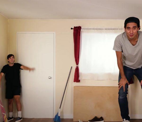 Ce magicien dévoile les techniques d'illusion de sa maison !