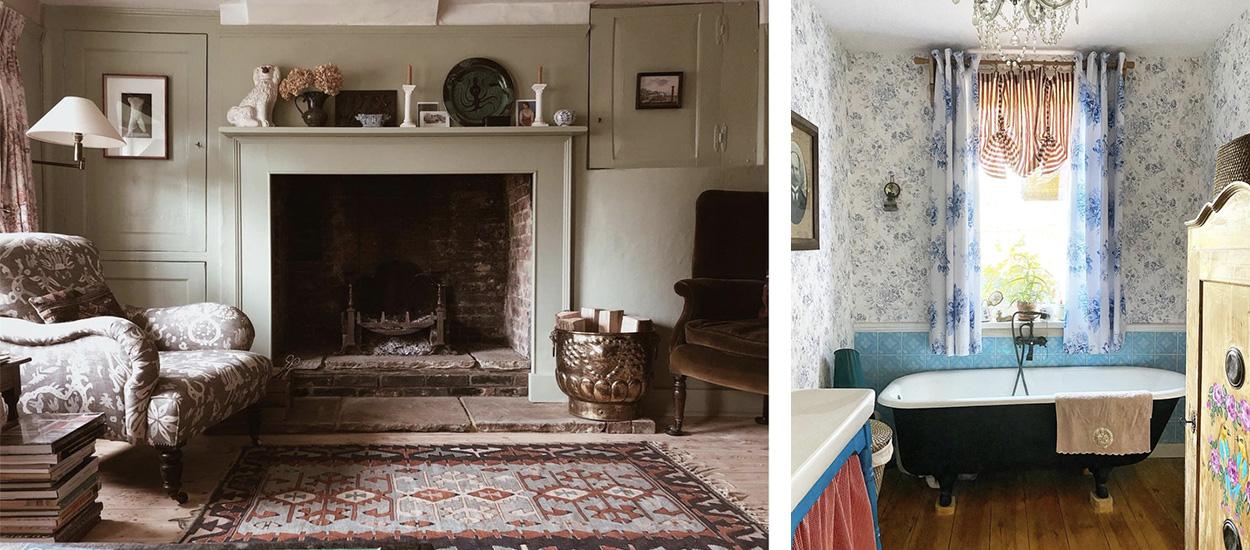 10 idées inspirantes pour créer une ambiance façon cottage dans une maison de campagne