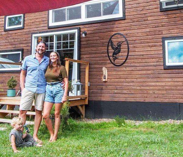 5 idées minimalistes à piquer à cette famille qui vit dans une tiny house