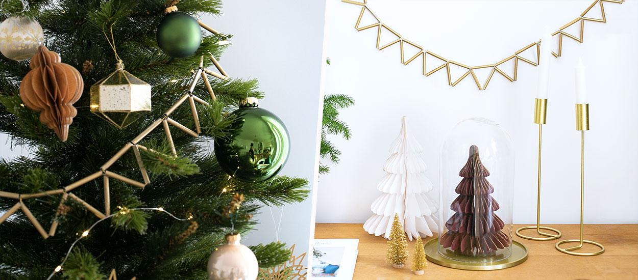 Tuto : Fabriquez une guirlande de Noël en laiton typique des pays nordiques