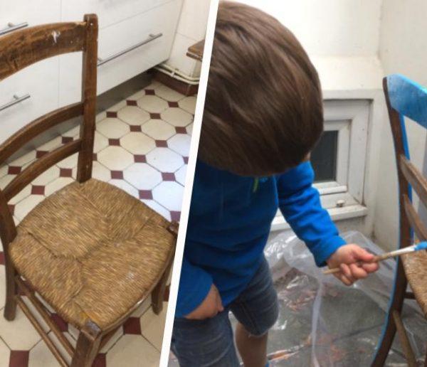 Avant / Après : Et si vous laissiez votre enfant customiser son mobilier ?