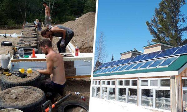Il y a 3 ans, il construisait sa maison en pneus : à quoi ressemble-t-elle aujourd'hui ?
