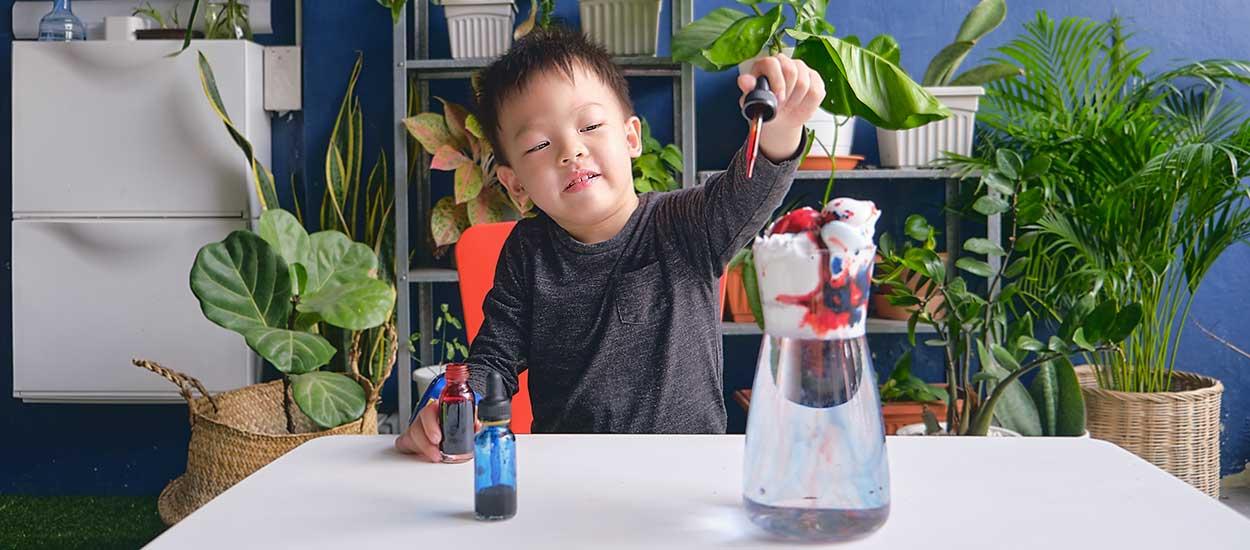 8 expériences scientifiques faciles à réaliser avec vos enfants à la maison