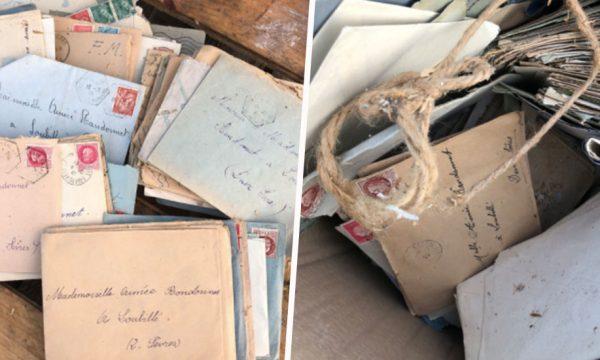 Des lettres d'amour datant de la Seconde Guerre mondiale retrouvées dans une déchetterie
