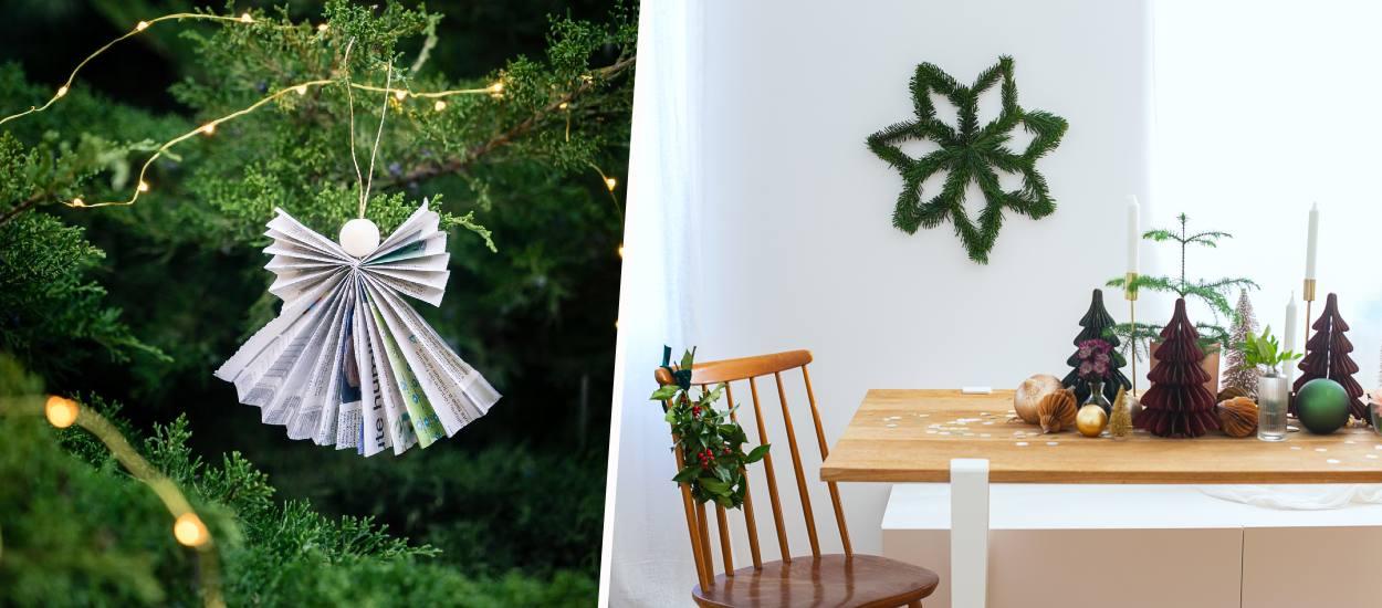 Nos mini-tutos de dernière minute pour parfaire votre déco de Noël