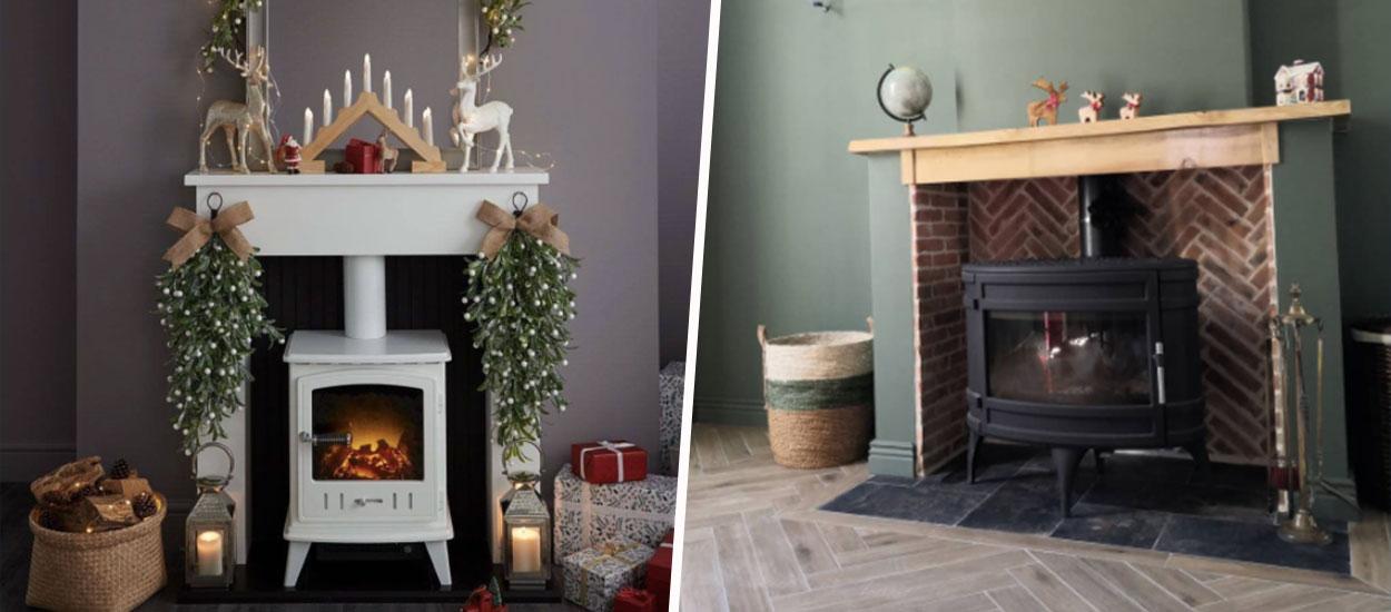 Inspiration déco : installer un poêle à bois dans sa cheminée
