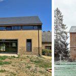 Une grange et une ancienne école rénovées