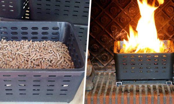 Ce Sarthois a inventé un système pour faire un bon feu de cheminée sans corvée de bois