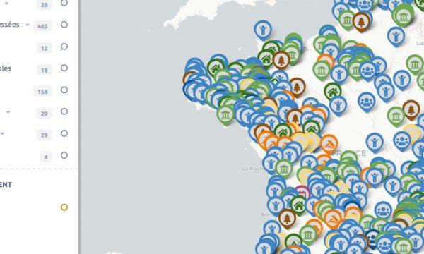 Cette carte recense les terrains disponibles pour installer un habitat léger en France