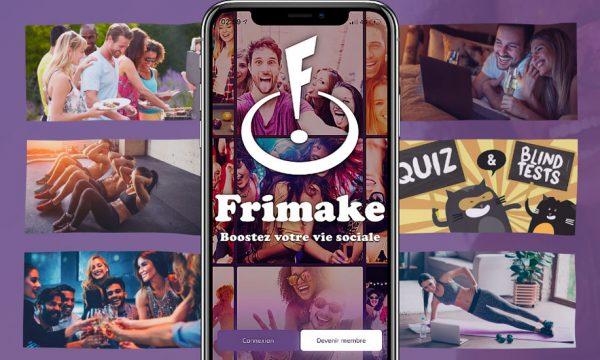 Frimake, l'appli pour se faire des amis et avoir une vie sociale malgré le couvre-feu