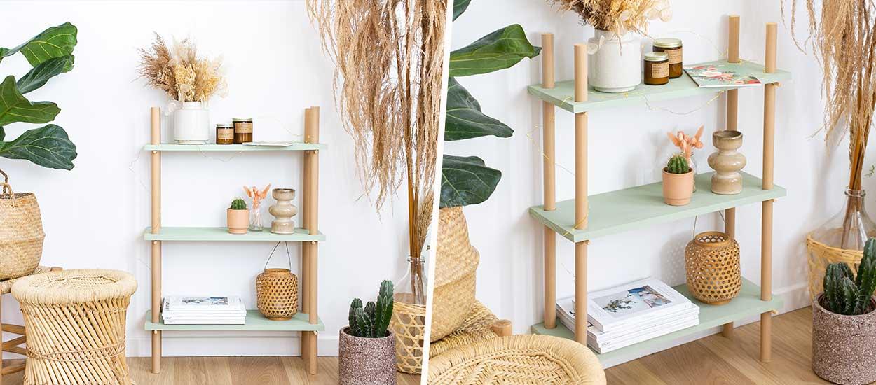 Tuto : Fabriquez une étagère sans colle, ni clous, ni vis
