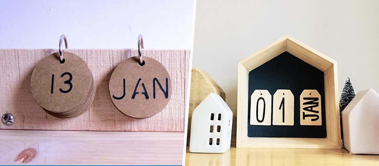 DIY : 7 calendriers perpétuels à fabriquer pour bien attaquer l'année