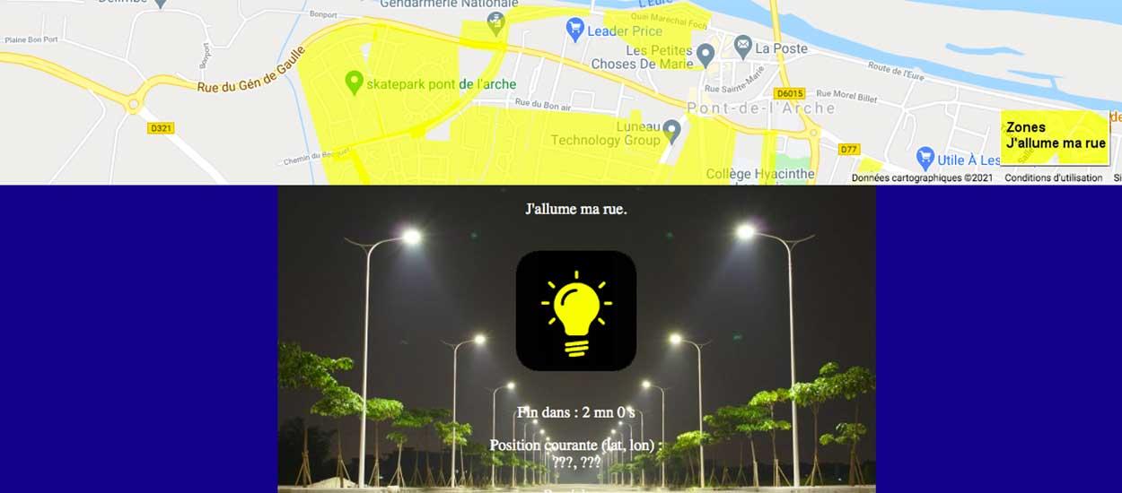 Un ingénieur a inventé un système qui permet de contrôler l'éclairage de votre rue avec un téléphone