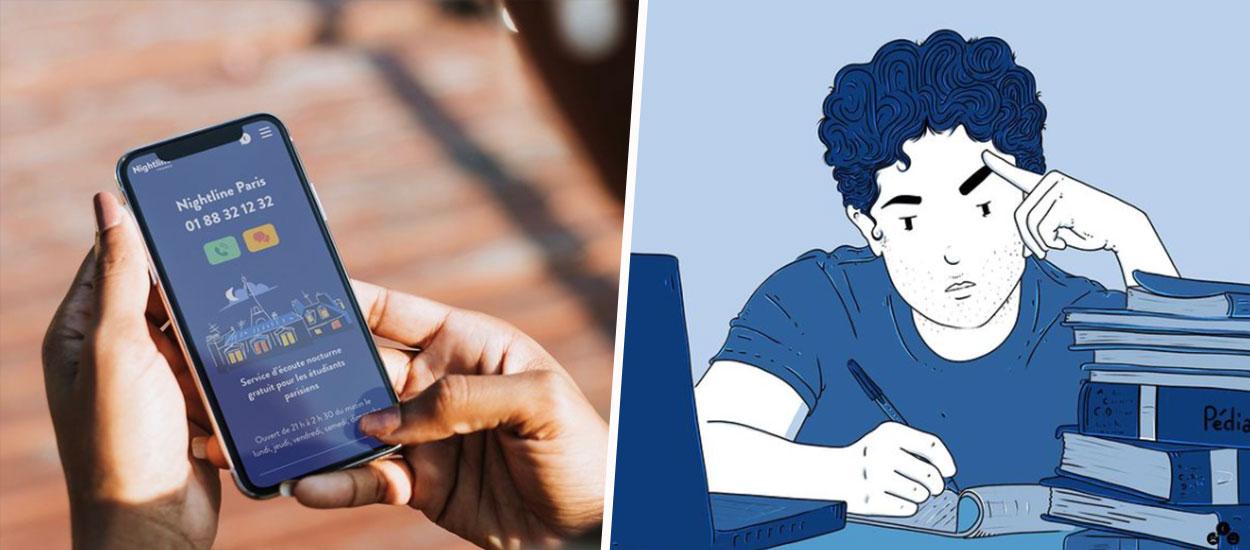"""""""Notre ligne d'écoute est à saturation"""": cette association aide les étudiants qui souffrent de la solitude"""