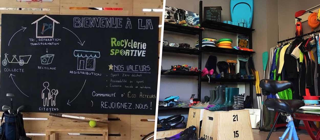La Recyclerie Sportive : donnez une seconde vie à votre matériel de sport
