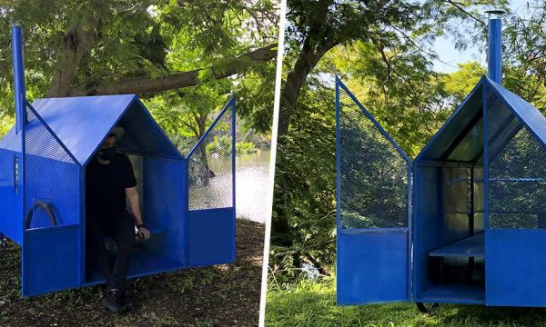 Ces deux designers mexicains ont inventé des tiny houses pour les sans-abris victimes de la crise