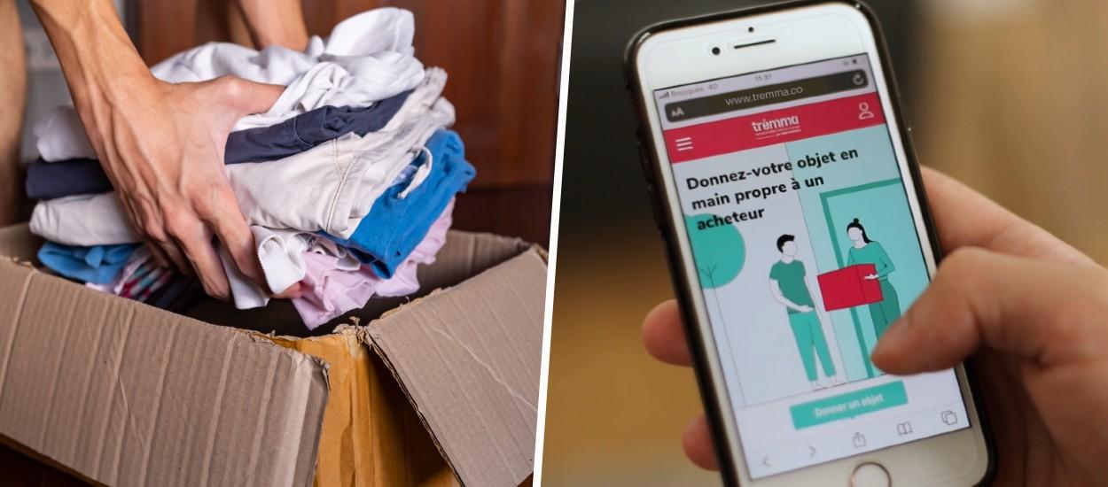 Emmaüs lance un site solidaire de vente d'objets et concurrence Vinted ou Leboncoin