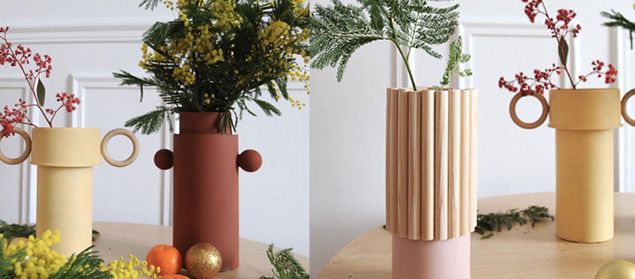 Tuto : Fabriquez un trio de vases tendance