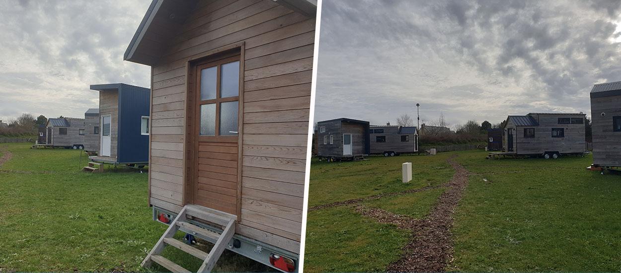En Bretagne, le premier village de tiny houses ne désemplit pas